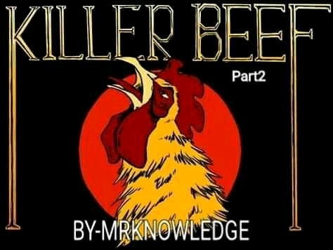 Killer beef part 2   Cover