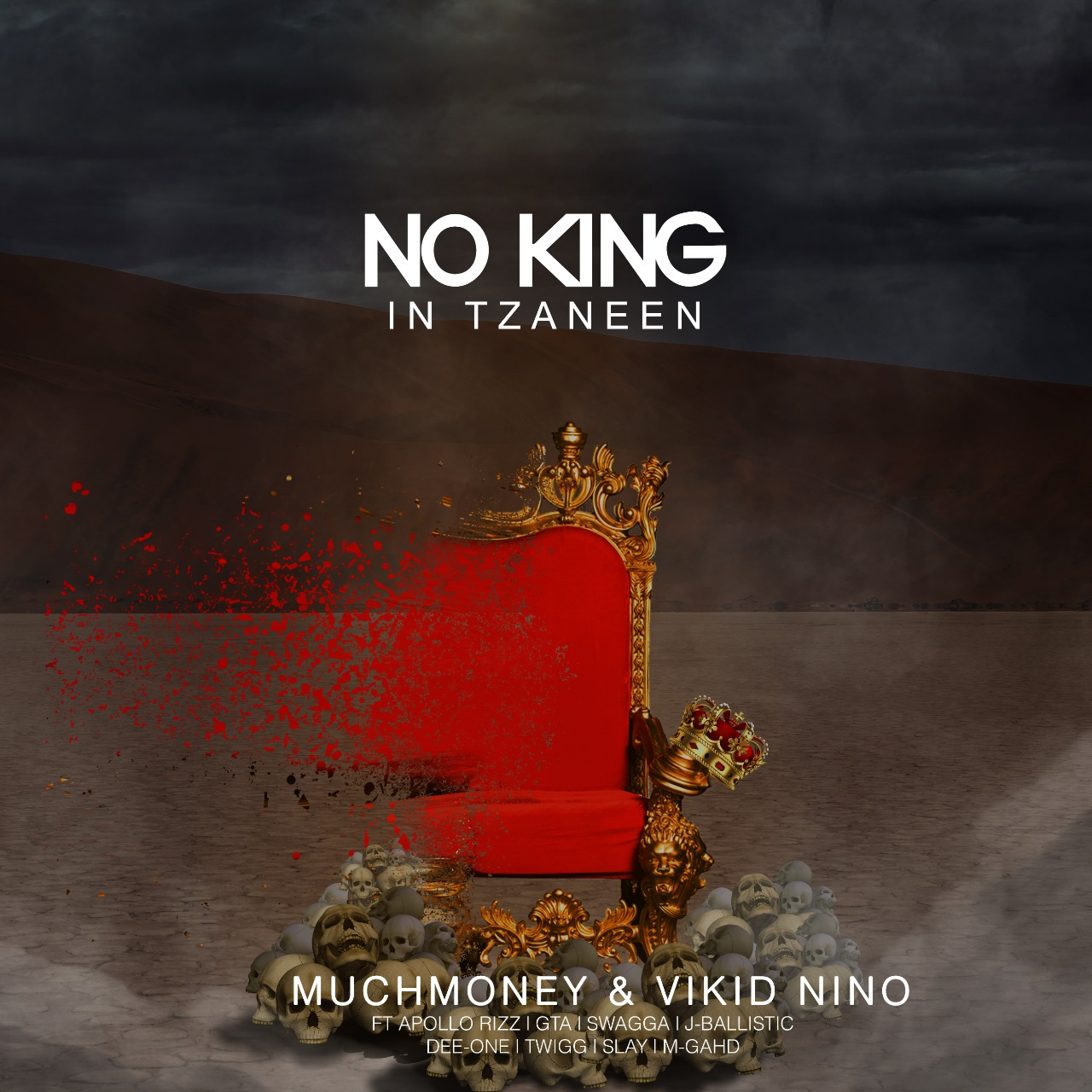 No King in Tzaneen   Cover