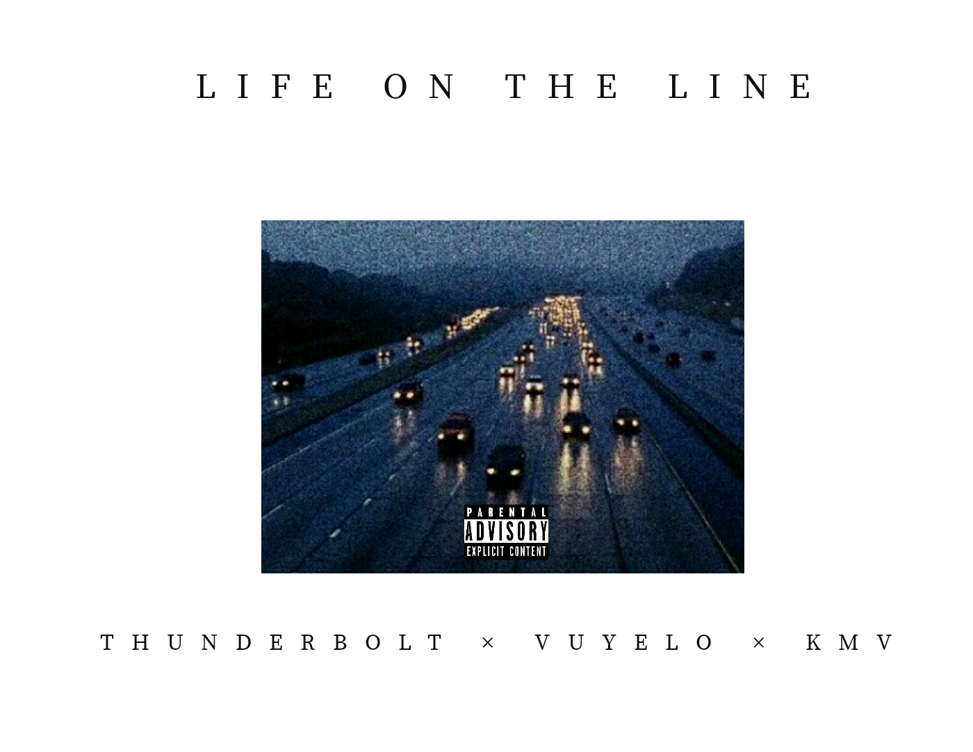 Life on the line   Cover
